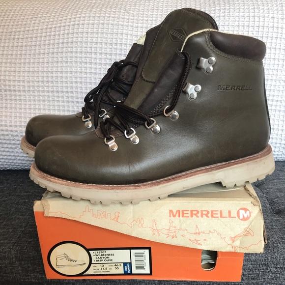 Merrell Other - Merrell Wilderness Canyon Boots